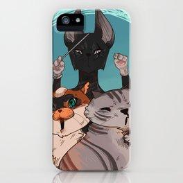 Cat Symphony No 9 iPhone Case