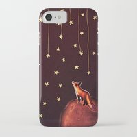 le petit prince iPhone & iPod Cases featuring ~Fox / Le Petit Prince by Federica Amico