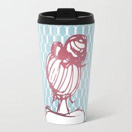 Hair Bun Travel Mug