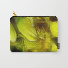 Abstracted Yellow Daffodils Carry-All Pouch