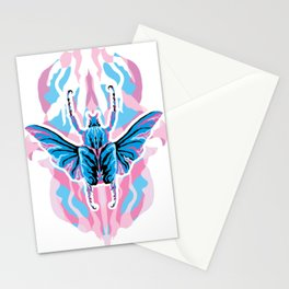 Goliathus Beetle _ psychedelic bug 1.0 Stationery Cards