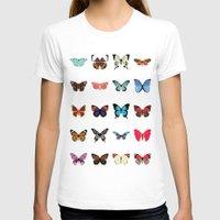butterflies T-shirts featuring Butterflies by Dorothy Leigh