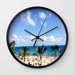 FT, Lauderdale Wall Clock
