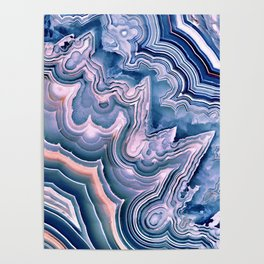 Agate ornaments Poster