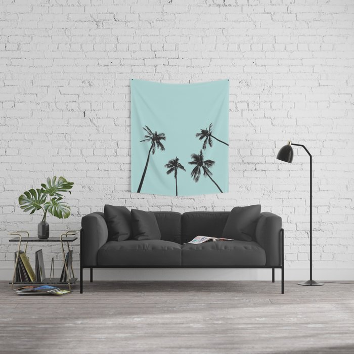 Palm trees 5 Wall Tapestry