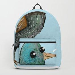 BRB Just Being a Birb Backpack