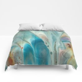 Pearl abstraction Comforters