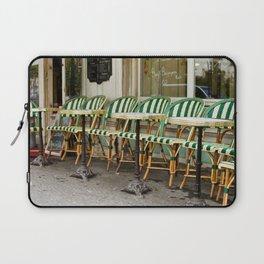 Cafe Views in Paris Laptop Sleeve