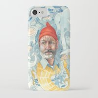 the life aquatic iPhone & iPod Cases featuring AQUATIC by busymockingbird