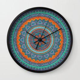 Hippie mandala 75 Wall Clock