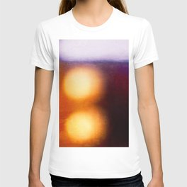 Abstract Composition In The Neon Light T-shirt
