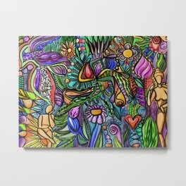 Trapped in Paradise Metal Print