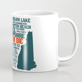 New Hampshire Live Free or Die Coffee Mug