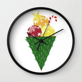 Icecold christmas Wall Clock