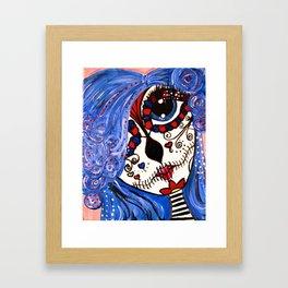 Day of the Dead Doll Framed Art Print