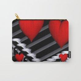 OpArt -51- Valentine coffeetime Carry-All Pouch