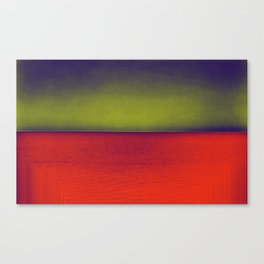 gradient horizon Canvas Print