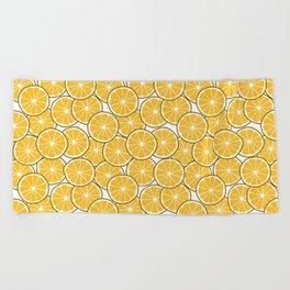 Orange Beach Towel