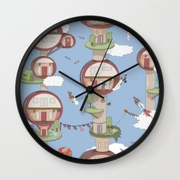 Up above the world so high Wall Clock