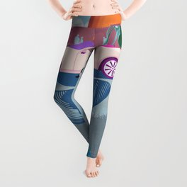 City Woman Leggings
