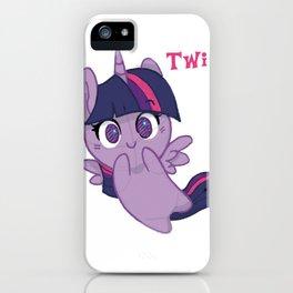 Twilight Sparkle cutie  iPhone Case