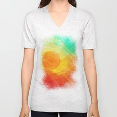 Dreamy Sunset Unisex V-Neck
