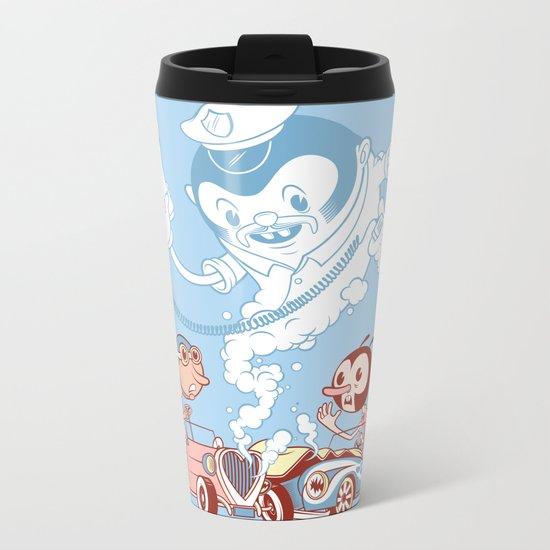 CrashBoomBang Metal Travel Mug