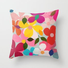 dogwood 12 Throw Pillow