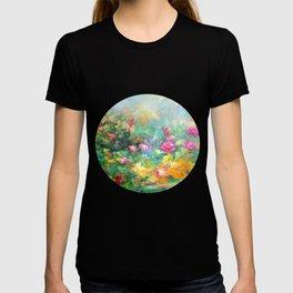 Roses paint  T-shirt