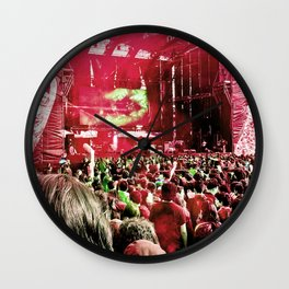 Our rock festival. The biggest of Latin America. Wall Clock
