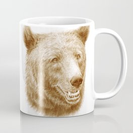 Brown bear is happy Coffee Mug