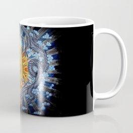 Chinese Phoenix and Dragon Mandala Coffee Mug