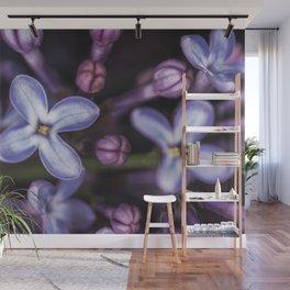 Lilacs close up Wall Mural