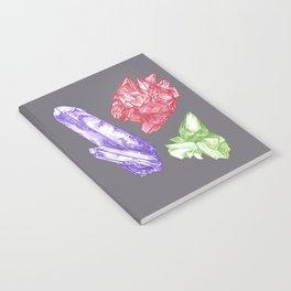 Rocks, Gems, Minerals Notebook
