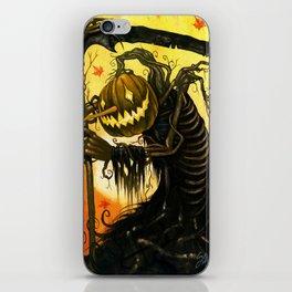Autumn Harvester iPhone Skin