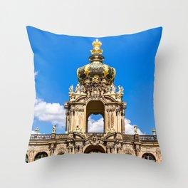 Zwinger in Dresden Throw Pillow