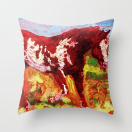 Overo Throw Pillow