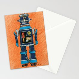 p.c.-bot by Nettwork2Design nettie heron-middleton Stationery Cards