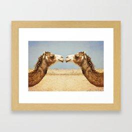 Love and Affection Framed Art Print