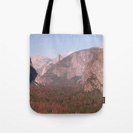 Yosemite Valley Tunnel View Tote Bag