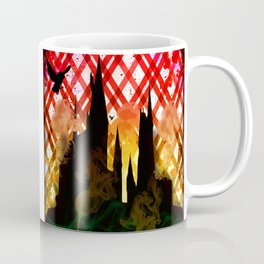 The Battle of Hogwarts Coffee Mug