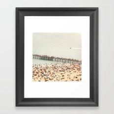 The Summers we leave behind Framed Art Print