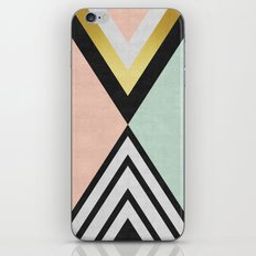 Minimalist fashion and golden I iPhone & iPod Skin