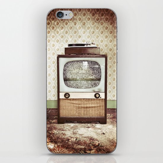 Vintage Entertainment Center iPhone & iPod Skin