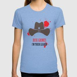 rick grimes the walking dead T-shirt