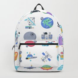 CUTE OUTER SPACE / SCIENCE / GALAXY PATTERN Backpack