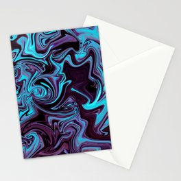 """ABSTRACT LIQUIDS XXXV """"35"""" Stationery Cards"""