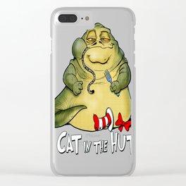 The Cat in the Hutt Clear iPhone Case