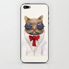 Astro Cat iPhone & iPod Skin