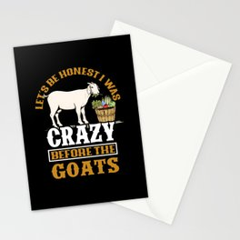 Goat Farming Stationery Cards